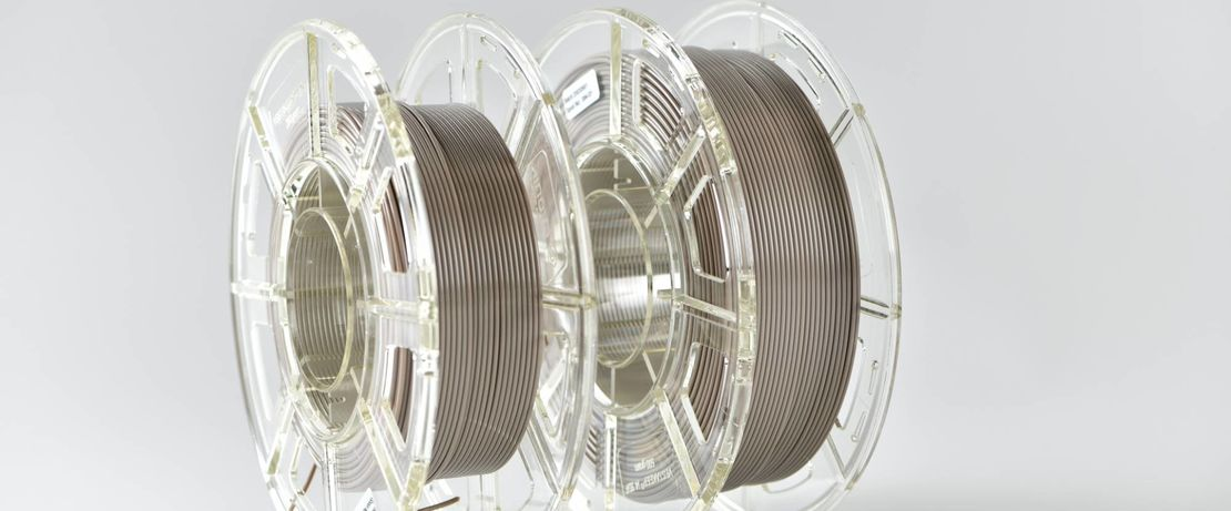 The natural-colored PEEK filament, which has a diameter of 1.75 mm, is wound on 250- or 500-gram spools suitable for direct use in standard FFF 3D printers for PEEK materials.